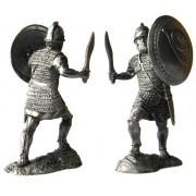 Тяжеловооруженный пехотинец священного отряда Карфагена, 3-2 вв до н. э. 5209 ПБ (н/к)