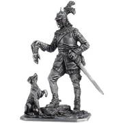 Германский кавалерист с собакой, 1650 год М127 ЕК (н/к)