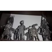 Набор оловянных солдатиков Поляки н/к в подарочной коробке (7 шт)