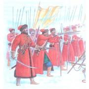 Набор оловянных солдатиков Стрельцы н/к в подарочной коробке (3 шт)