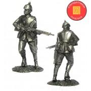 Унтер-офицер 45 пехотного полка, Германия, 1914 год PTS-5275 ПБ (н/к)