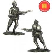 Старший унтер-офицер 6 Либавского полка, Россия, 1914 год PTS-5266 ПБ (н/к)