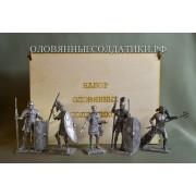 Набор Римляне №3 (5 н/к) в фанерной коробке