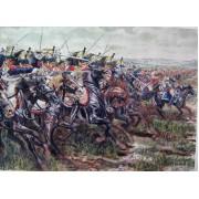 """Набор оловянных солдатиков """"Наполеоновские воины"""" пк/п2 в подарочной коробке (40 шт)"""