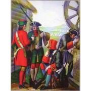 Набор оловянных солдатиков Русские 17 век №2 н/к в подарочной коробке (6 шт)