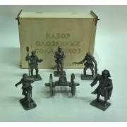 Набор Артиллеристы Бомбарды н/к  в подарочной коробке (6 шт) ЕК