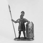 Тяжеловооруженный микенский воин. 1600 г. до н. э. К-61 НВ (н/к)