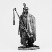 Периска-рупа (Два Ворона), предводитель хидатсов. 19 век A-73 (н/к)