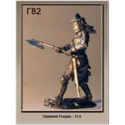 Германия Рыцарь 14 век Г82 ТС (н/к)