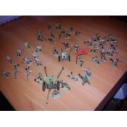 Набор оловянных солдатиков Русские из 42 фигурок МК