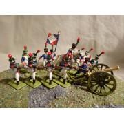 Франция(1812)Молодая гвардия. Вольтижеры МК
