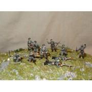 Немецкая пехота в обороне МК