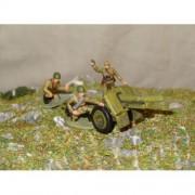 Красная Армия Горная пушка обр 1938 г с боевым расчетом МК