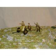 Красная Армия Пушка Сорокопятка обр 1942 г с боевым расчетом МК