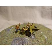 Красная Армия Полковая Пушка обр 1927 г с боевым расчетом МК