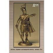 Англия. Сержант шотландской пехоты Начало 19 века Д11 ТС (н/к)