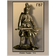 Италия. Рыцарь 13 век Г87 ТС (н/к)