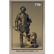 Италия. Джакопо Ди Кавалли 14 век Г59 ТС (н/к)