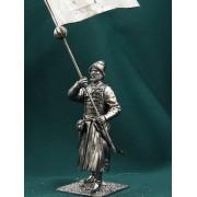 Россия Стрелец-знаменщик с сотенным знаменем 17 век Е72 ТС (н/к)