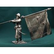 Россия Стрелец-знаменщик с сотенным знаменем. 17 век Е68 ТС (н/к)