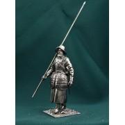 Россия Стрелец-пикинёр на походе 17 век Е66 ТС (н/к)