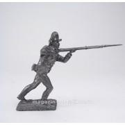 Подпрапорщик мушкетерского полка, 1780-1790 гг 5254 ПБ (н/к)