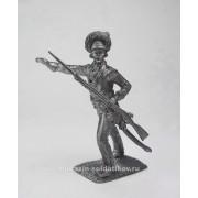 Обер-офицер мушкетерского полка, 1780-1790 гг 5256 ПБ (н/к)