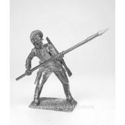 Сержант егерского полка, 1780-1790 гг 5253 ПБ (н/к)