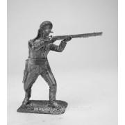 Рядовой егерского полка, 1780-1790 гг 5251 ПБ (н/к)