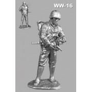 Зима 1943 года Младший офицер войск СС WW-16 РОН (н/к)