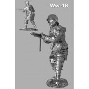 """Пулеметчик сс в """"харьков-парке"""" 1943 год WW-18 РОН (н/к)"""