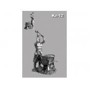Казак с литаврами (довбуш) KZ-12 РН (н/к)