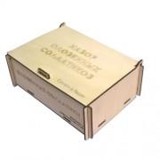 Коробка из фанеры 165х110х55