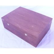 Подарочная деревянная коробка 300х300х100