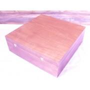 Подарочная деревянная коробка 200х200х100