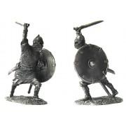 Древнерусский воин, 9-10 века 5032 ПБ (н/к)