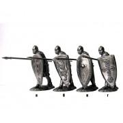 Русский тяжеловооруженный пехотинец, 13 век 5098(2) ПБ (н/к)