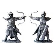 Монгольский лучник 13-14 вв 5036 ПБ (н/к)