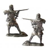 Татарский воин с пищалью, XVI-XVII вв 5114 ПБ (н/к)