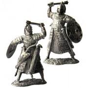 Тяжеловооруженный золотоордынский воин, 14 век. 5172 ПБ (н/к)