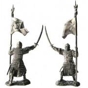 Золотоордынский знаменосец, 14 век. 5170 ПБ (н/к)