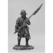 Западно-европейский пехотинец,XII-XIII вв 5018 ПБ (н/к)