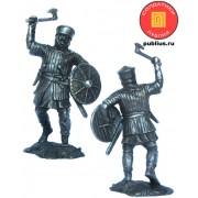 Западноевропейский пехотинец, 12 век 5322 ПБ (н/к)