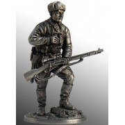 Снайпер 1047-го стрелкового полка Зайцев В., осень 1942 г. СССР WWII-3 EK (н/к)