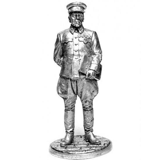 Нач. Генштаба РККА маршал Б.М. Шапошников, 1941-42 гг. СССР WWII-2 EK