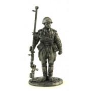 Наводчик противотанкового ружья младший сержант пехоты Кр. Армии. 1943-45 гг. СССР WWII-4 EK (н/к)