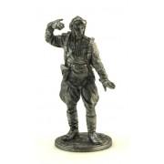 Командир эск. 178-го гврд. ав. плк. капитан Кирилл Евстигнеев, 1945 г.. СССР WWII-5 EK (н/к)