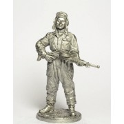 Танкист, стрелок-радист с пулемётом ДТ 1943-45 гг. СССР WWII-13 EK (н/к)