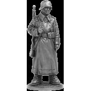 Рядовой пехоты Вермахта (Германия) в караульных ботах 1942-43 гг WWII-25 EK (н/к)