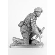 Минометчик РККА с лопатой 141 РТ